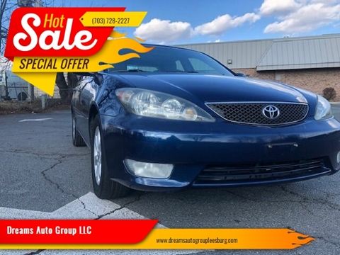 2006 Toyota Camry for sale at Dreams Auto Group LLC in Leesburg VA