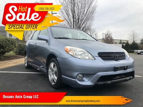 2006 Toyota Matrix for sale at Dreams Auto Group LLC in Leesburg VA