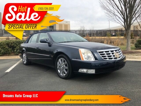 2006 Cadillac DTS for sale at Dreams Auto Group LLC in Leesburg VA