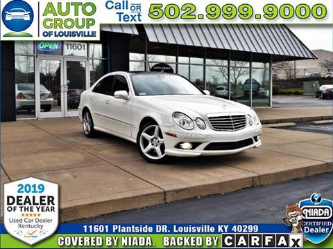 2009 Mercedes-Benz E-Class for sale in Louisville, KY