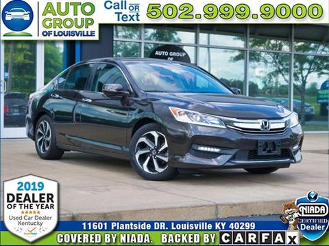 2016 Honda Accord for sale in Louisville, KY