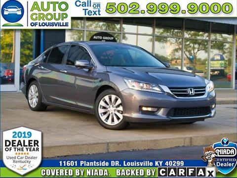 2014 Honda Accord for sale in Louisville, KY