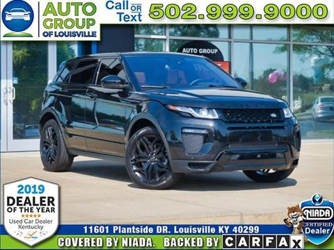 2017 Land Rover Range Rover Evoque for sale in Louisville, KY