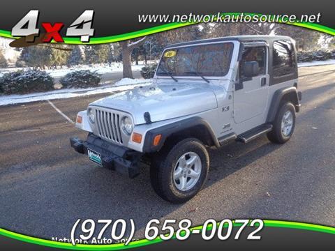 2006 Jeep Wrangler for sale in Loveland, CO