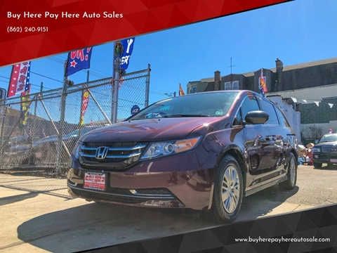 2015 Honda Odyssey for sale in Newark, NJ