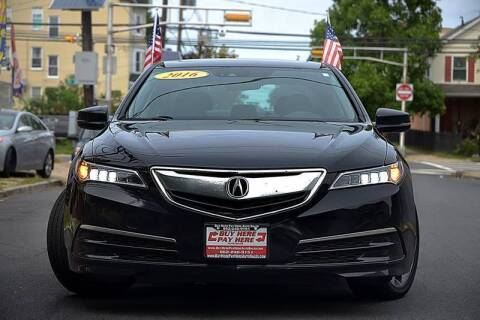 2016 Acura TLX for sale at Buy Here Pay Here Auto Sales in Newark NJ
