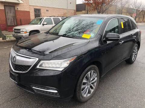 2016 Acura MDX for sale at Buy Here Pay Here Auto Sales in Newark NJ
