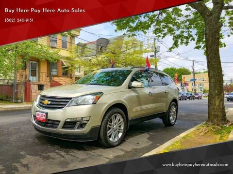 2014 Chevrolet Traverse for sale at Buy Here Pay Here Auto Sales in Newark NJ