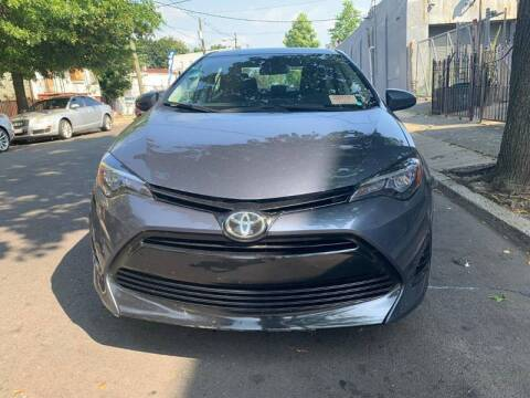 2017 Toyota Corolla for sale at Buy Here Pay Here Auto Sales in Newark NJ