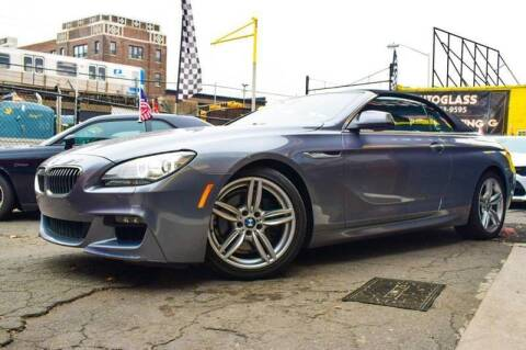 2012 BMW 6 Series for sale at Buy Here Pay Here Auto Sales in Newark NJ