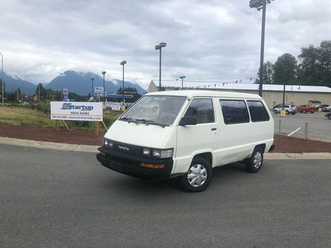 1987 Toyota Van for sale in Sultan, WA
