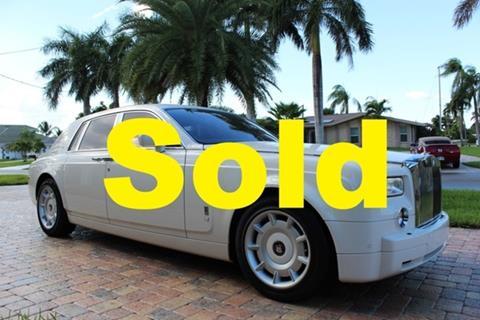 2004 Rolls-Royce Phantom for sale in Fort Myers, FL