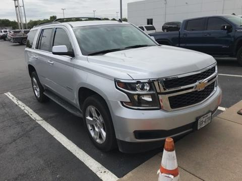 used chevrolet tahoe for sale carsforsale com®2015 chevrolet tahoe for sale in weatherford, tx