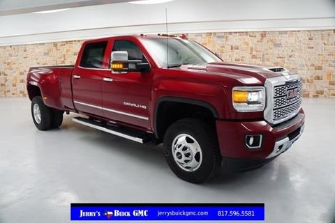 2018 GMC Sierra 3500HD for sale at Jerry's Buick GMC in Weatherford TX