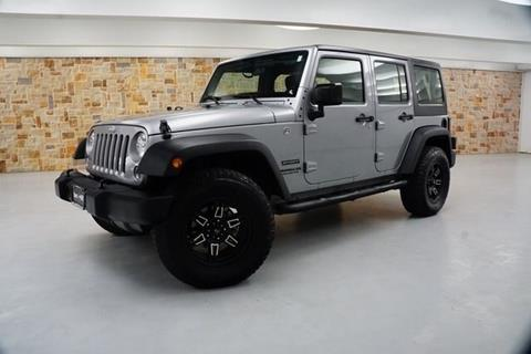 2017 Jeep Wrangler Unlimited for sale in Weatherford, TX