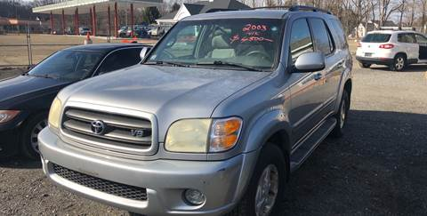 2003 Toyota Sequoia for sale at AUTO OUTLET in Taunton MA