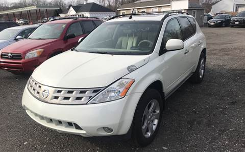 2004 Nissan Murano for sale at AUTO OUTLET in Taunton MA