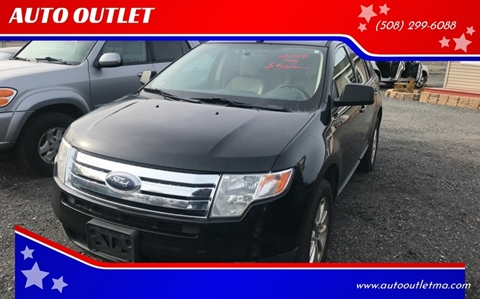 2009 Ford Edge for sale at AUTO OUTLET in Taunton MA
