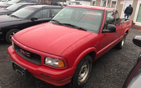 1997 GMC Sonoma for sale at AUTO OUTLET in Taunton MA