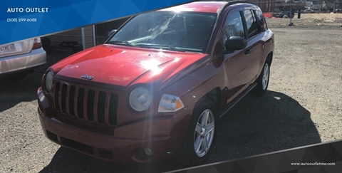 2007 Jeep Compass for sale at AUTO OUTLET in Taunton MA