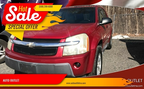 2005 Chevrolet Equinox for sale at AUTO OUTLET in Taunton MA
