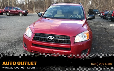 2011 Toyota RAV4 for sale at AUTO OUTLET in Taunton MA