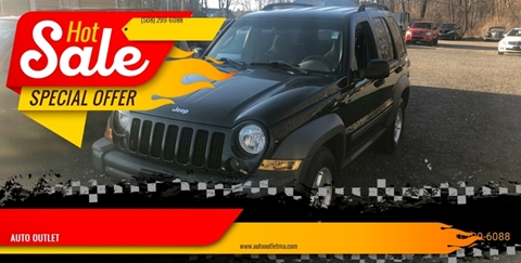 2005 Jeep Liberty for sale at AUTO OUTLET in Taunton MA