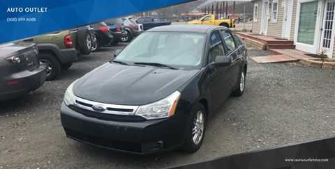 2009 Ford Focus for sale at AUTO OUTLET in Taunton MA