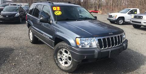 2003 Jeep Grand Cherokee for sale at AUTO OUTLET in Taunton MA