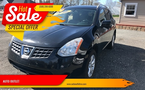 2008 Nissan Rogue for sale at AUTO OUTLET in Taunton MA