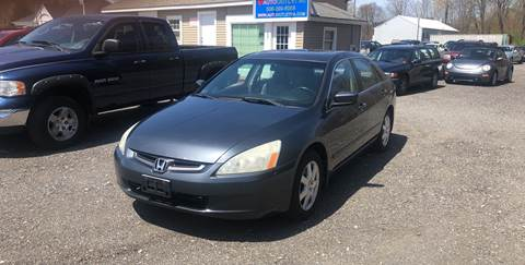 2005 Honda Accord for sale at AUTO OUTLET in Taunton MA