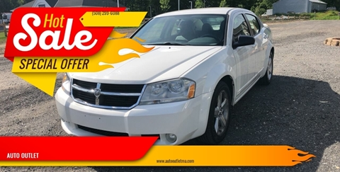 2008 Dodge Avenger for sale at AUTO OUTLET in Taunton MA