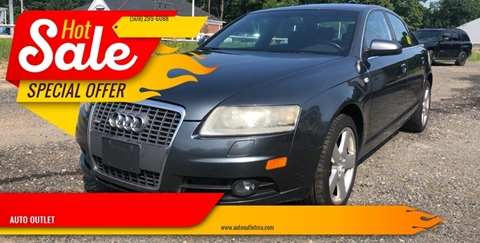 2008 Audi A6 for sale at AUTO OUTLET in Taunton MA