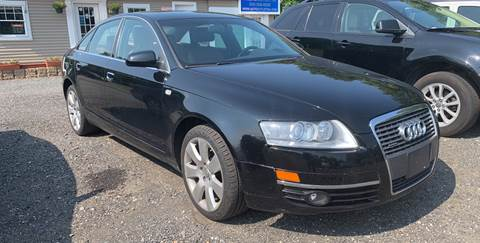 2006 Audi A6 for sale at AUTO OUTLET in Taunton MA