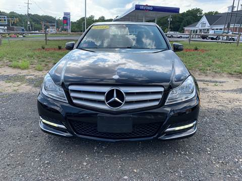 2013 Mercedes-Benz C-Class for sale at AUTO OUTLET in Taunton MA