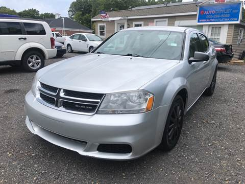 2011 Dodge Avenger for sale at AUTO OUTLET in Taunton MA