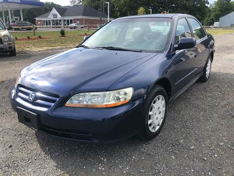 2002 Honda Accord for sale at AUTO OUTLET in Taunton MA