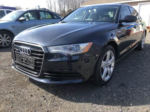 2012 Audi A6 for sale at AUTO OUTLET in Taunton MA