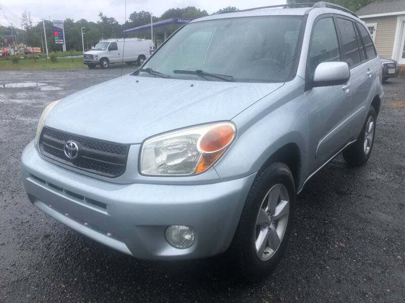 2005 Toyota RAV4 for sale at AUTO OUTLET in Taunton MA