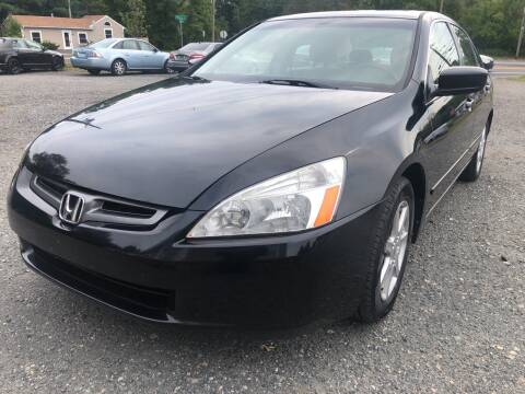 2003 Honda Accord for sale at AUTO OUTLET in Taunton MA