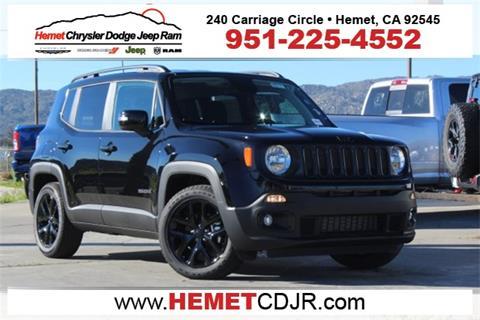 2018 Jeep Renegade for sale in Hemet, CA
