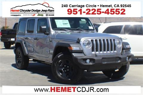 2018 Jeep Wrangler Unlimited for sale in Hemet, CA
