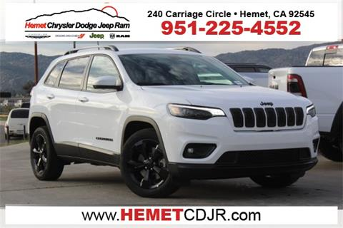 2019 Jeep Cherokee for sale in Hemet, CA