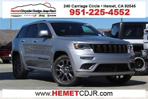 2019 Jeep Grand Cherokee for sale in Hemet, CA