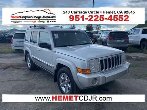 2008 Jeep Commander for sale in Hemet, CA