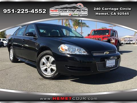 2015 Chevrolet Impala Limited for sale in Hemet, CA