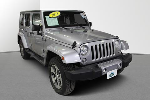 2018 Jeep Wrangler Unlimited for sale in Rhinelander, WI