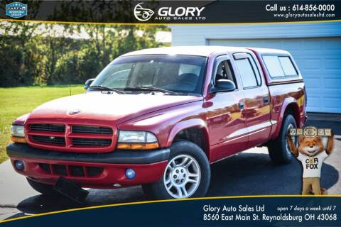 2002 Dodge Dakota for sale at Glory Auto Sales LTD in Reynoldsburg OH