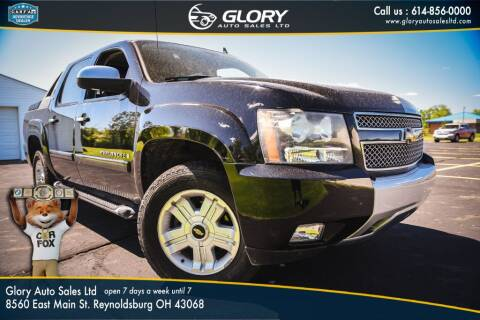 2008 Chevrolet Avalanche for sale at Glory Auto Sales LTD in Reynoldsburg OH