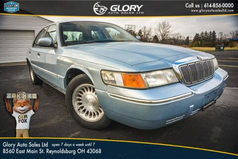 2002 Mercury Grand Marquis for sale at Glory Auto Sales LTD in Reynoldsburg OH